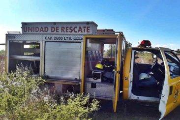 En sólo una tarde los Bomberos Voluntarios debieron sofocar otros tres incendios forestales
