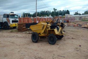 Robaron una máquina de una construcción en Concordia y apareció en Federación