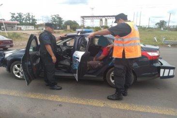 Un hombre con pedido de captura fue detenido en la autovía 14